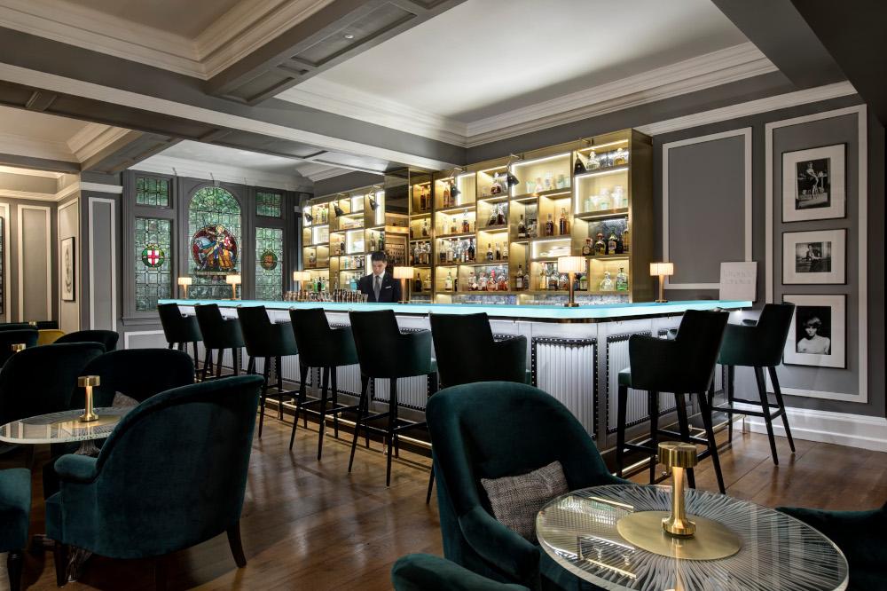 The bar at The Donovan