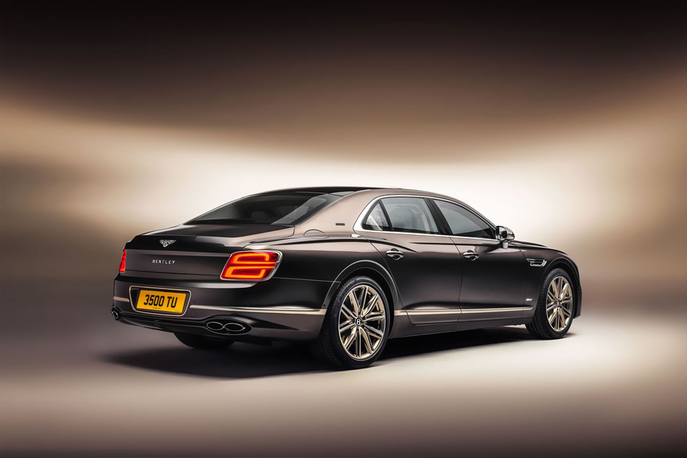 Bentley Flying Spur Hybrid rear view