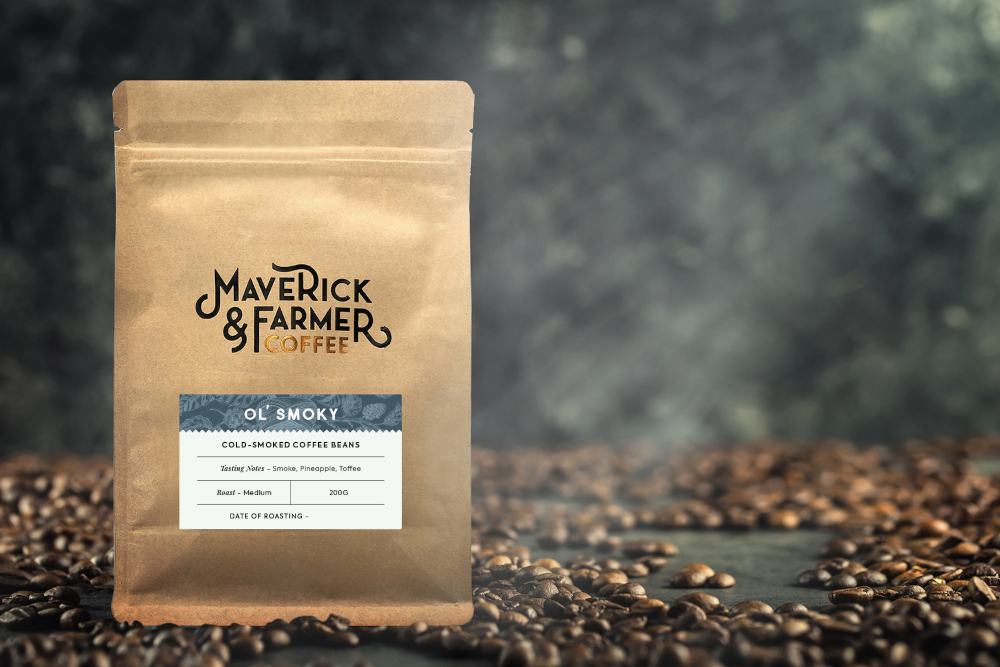 Ol' Smoky coffee beans