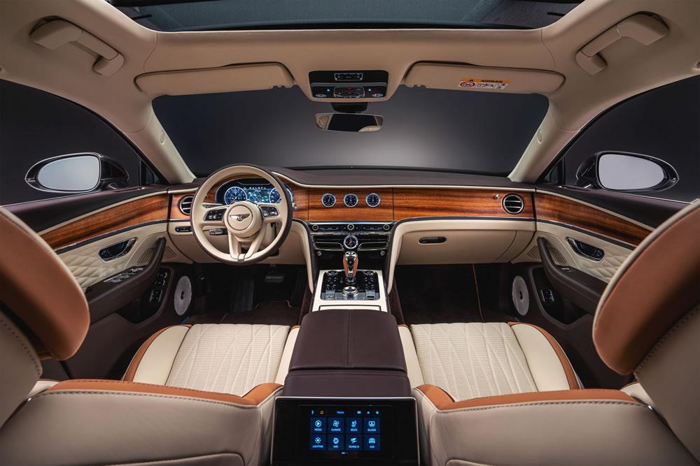Bentley Flying Spur Hybrid interior