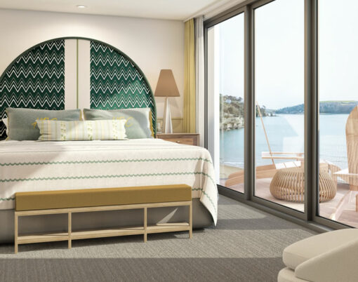 Bedroom at Harbour Beach Club & Hotel