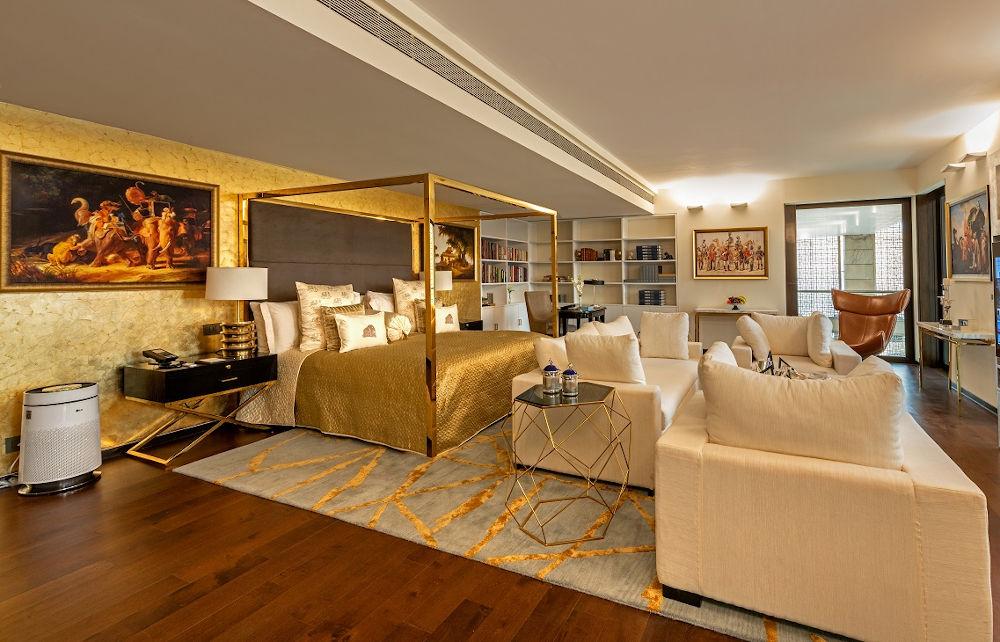 Lodhi hotel room Delhi