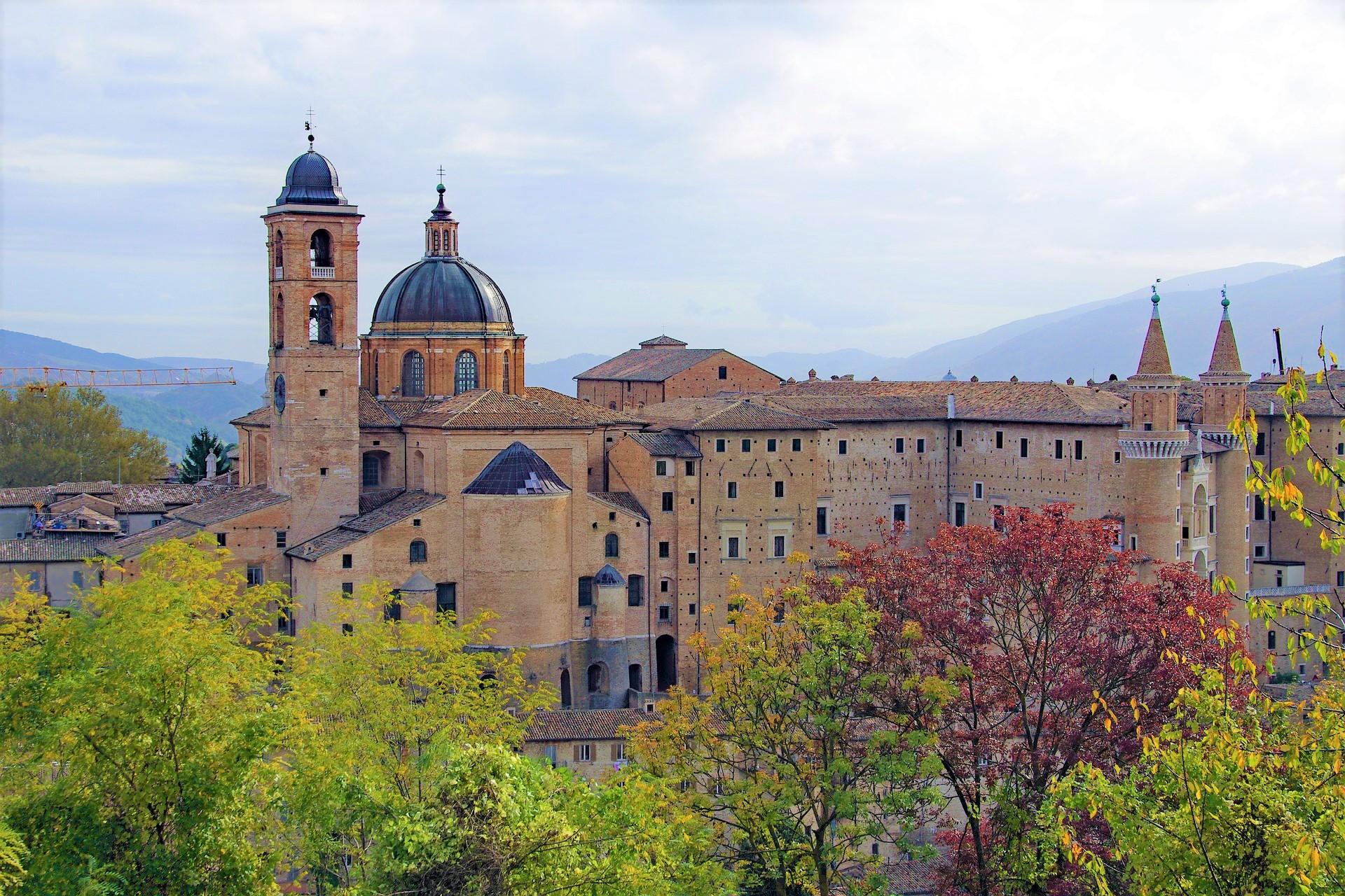 Urbino in the Marche region