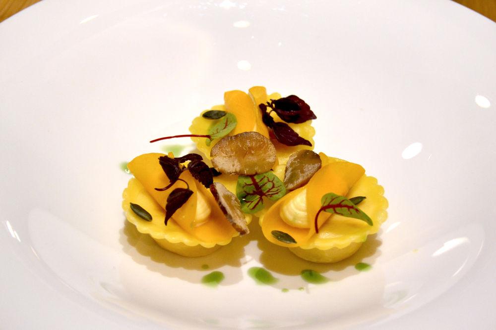 mono ravioli dish