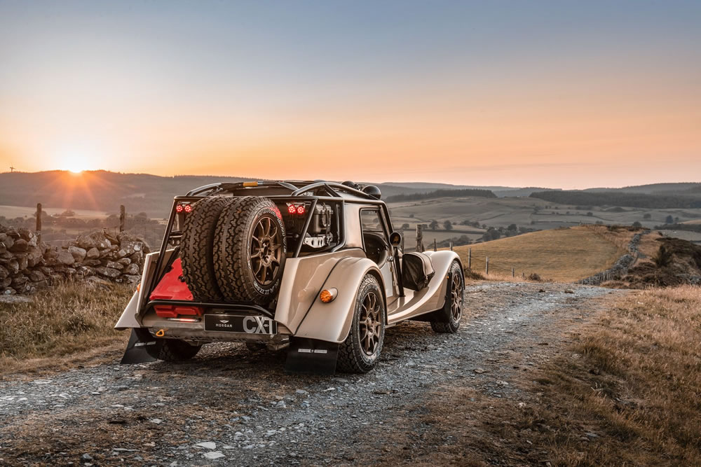 Limited Edition Morgan Plus Four CX-T Offroader