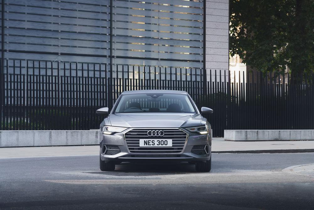 Audi A6 Saloon E-Hybrid front view