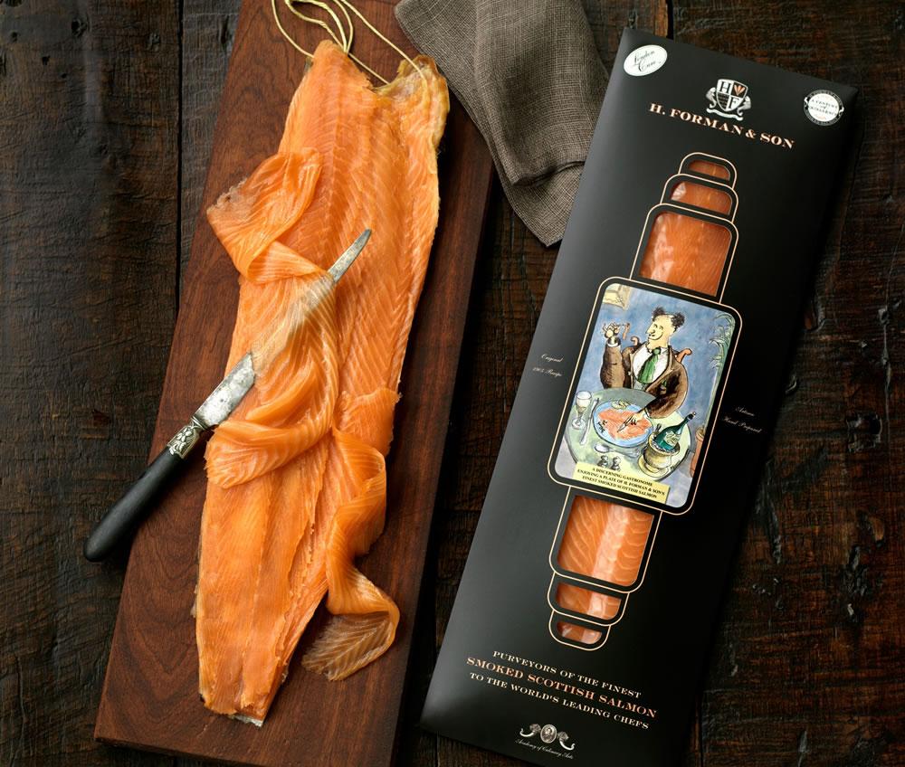 H. Forman & Son smoked Scottish salmon