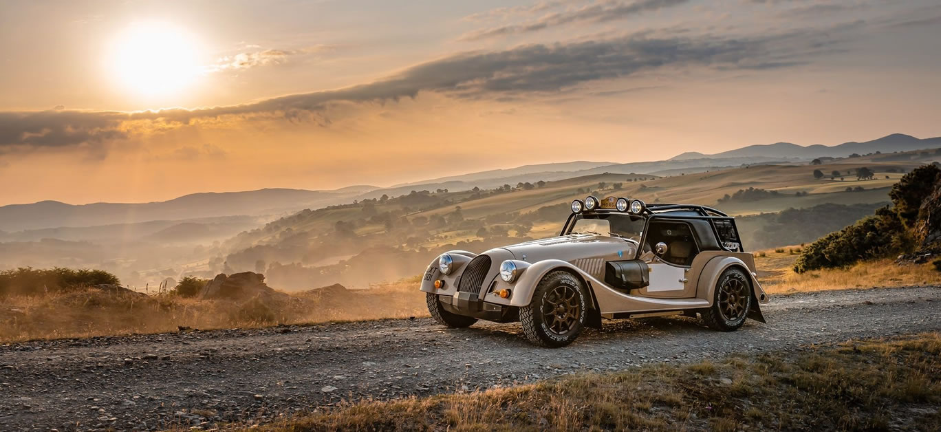 Limited Edition Morgan Plus Four CX-T Offroader Revealed