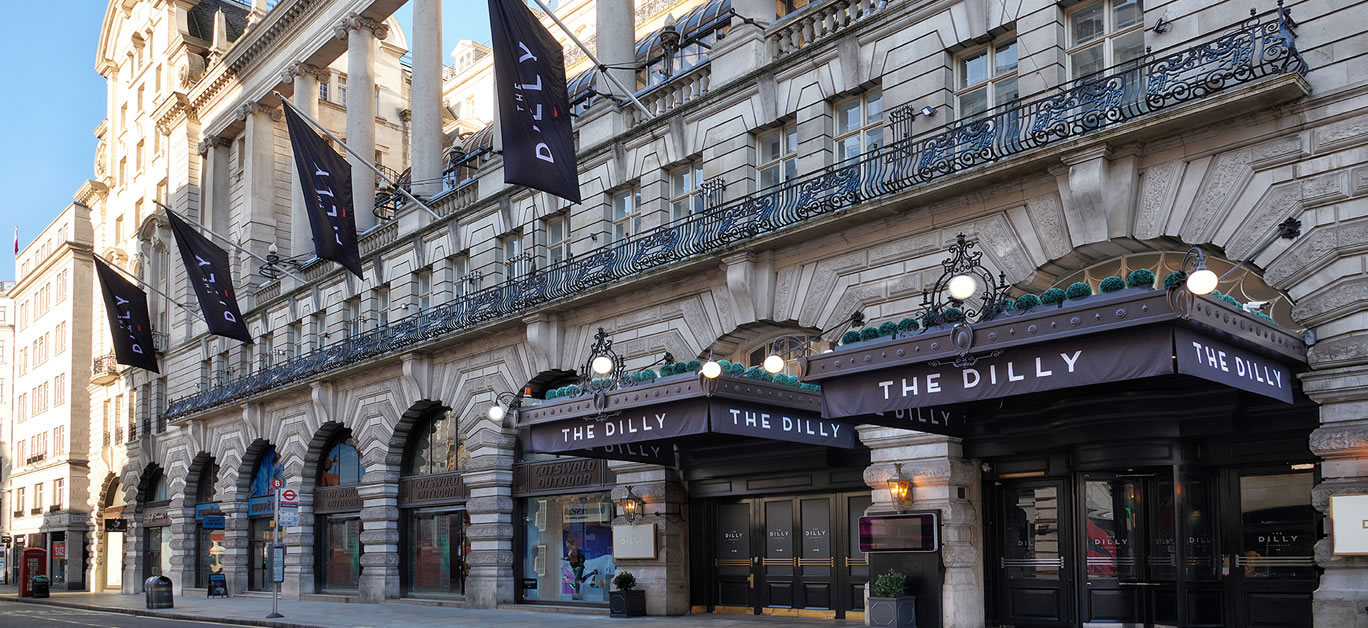 The Dilly, one of London's most prestigious and historic hotels