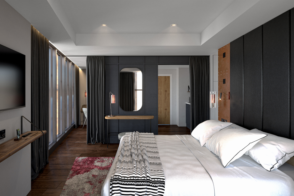 Bedroom at The Gantry