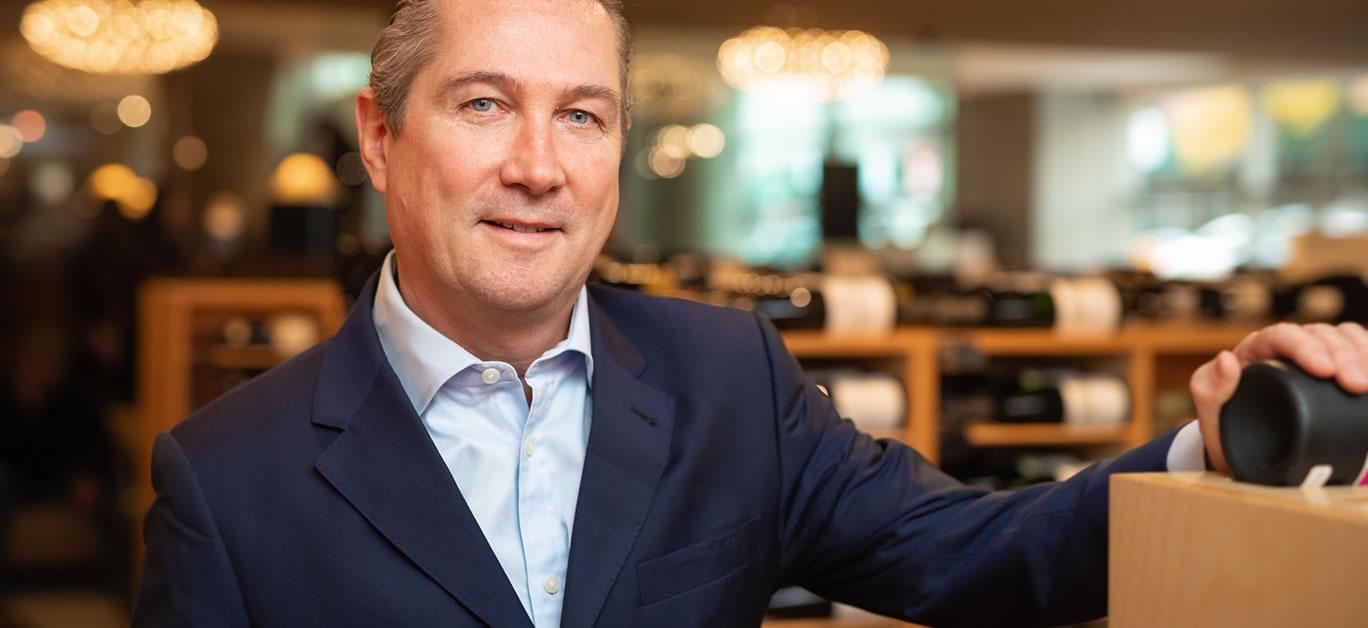 Jamie Ritchie, WW Head of Sotheby's Wine