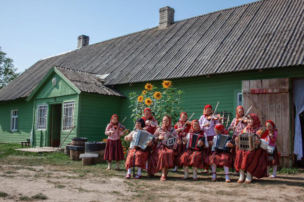 Estonian island of Kihnu