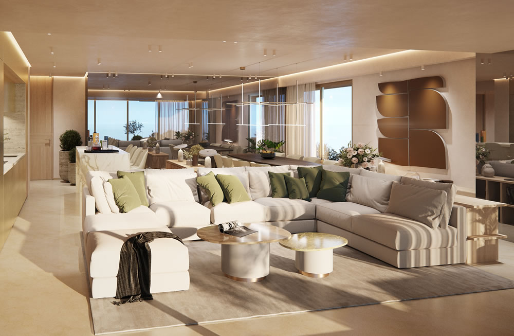 Londa's The Residences lounge