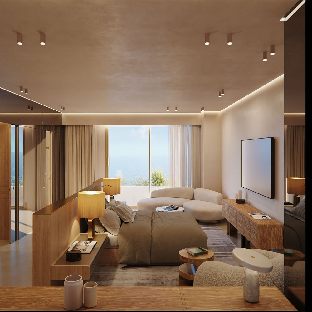 Londa's The Residences master bedroom