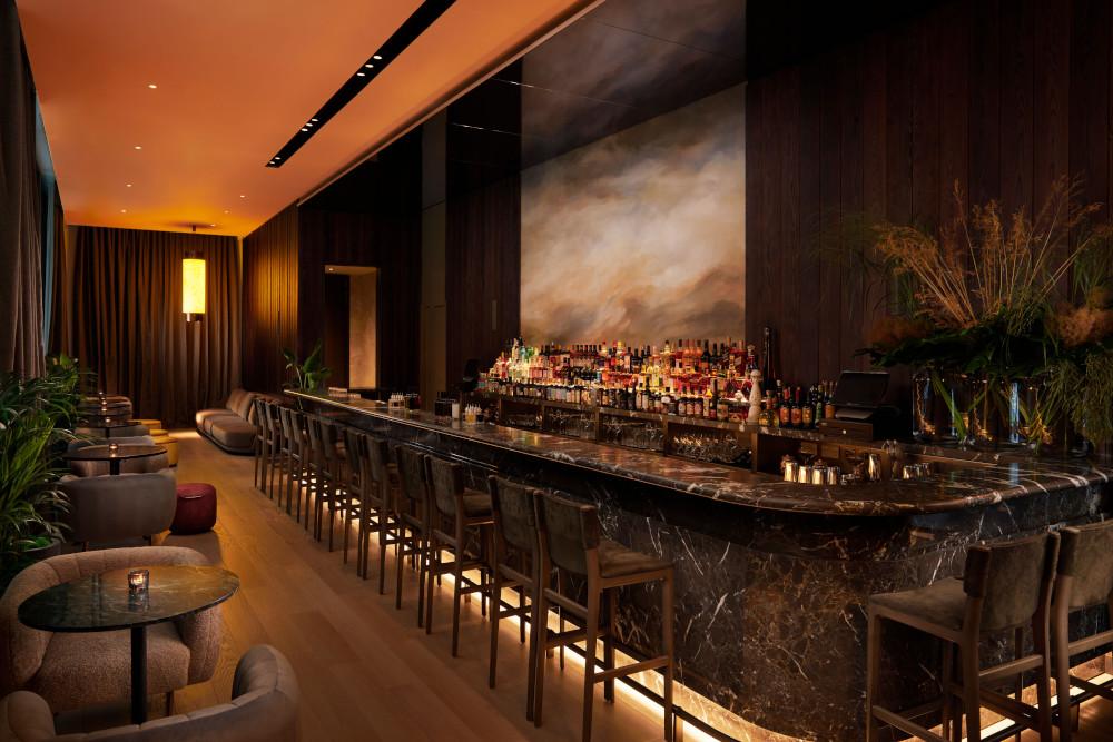 Bar in Pan Pacific London