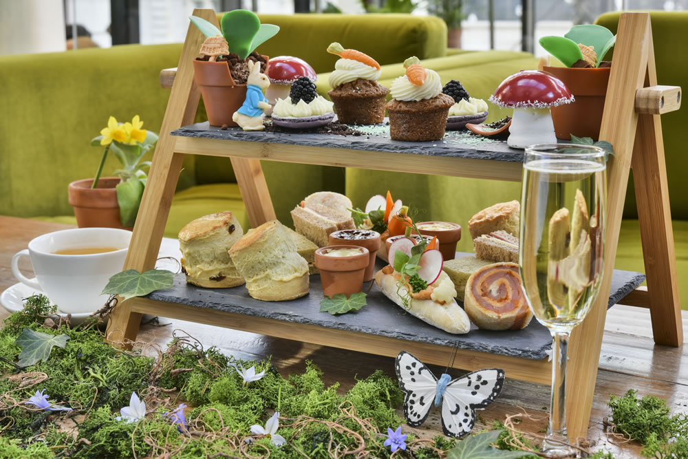 The Peter Rabbit afternoon tea at the Dilly