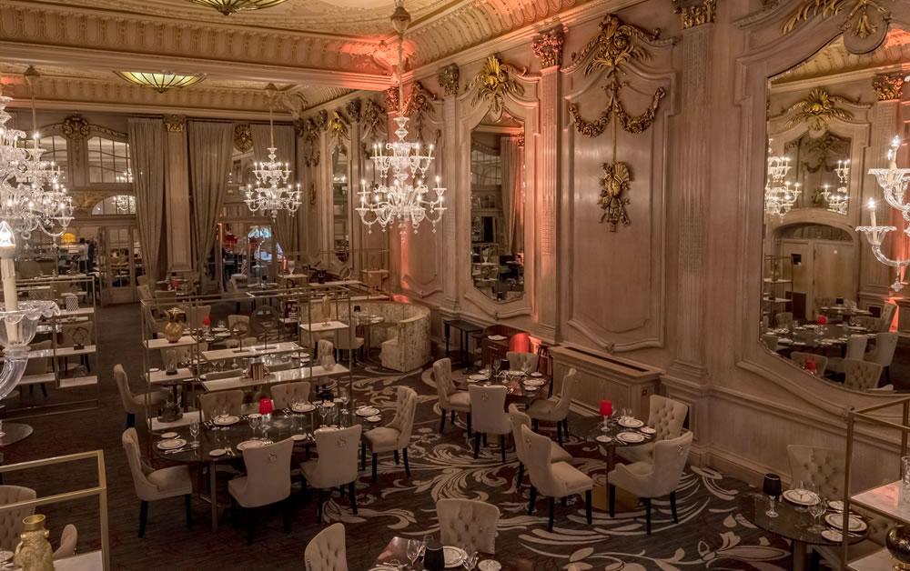 Madhu's of Mayfair restaurant interior