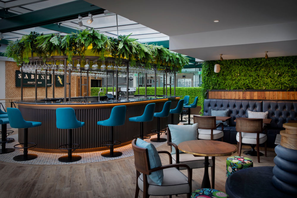 Sabine Rooftop Bar, London