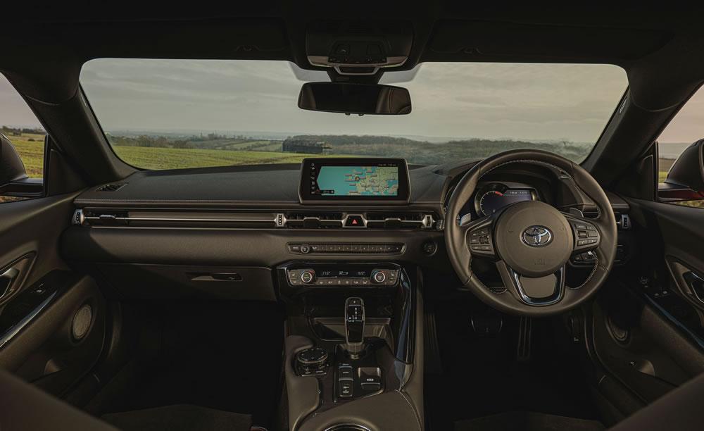 Toyota GR Supra 2.0 PRO interior