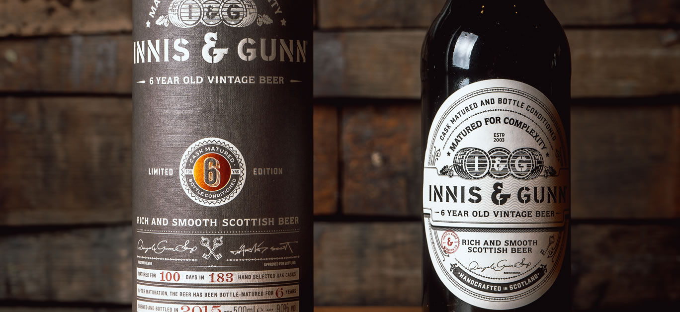 Scottish craft brewery Innis and Gunn launches Vintage