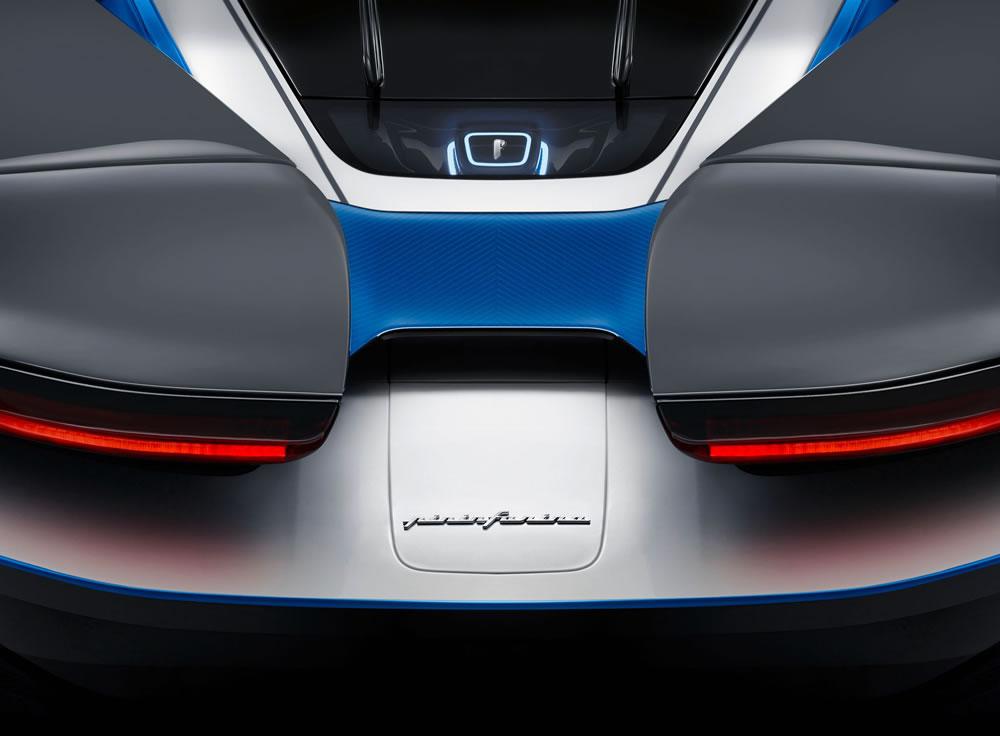 Automobili Pininfarina's stunning Battista Anniversario (exterior)