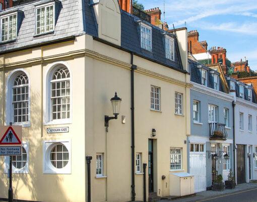 luxury property in chelsea, london