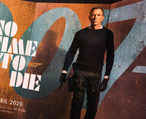 james bond poster As No Time To Die
