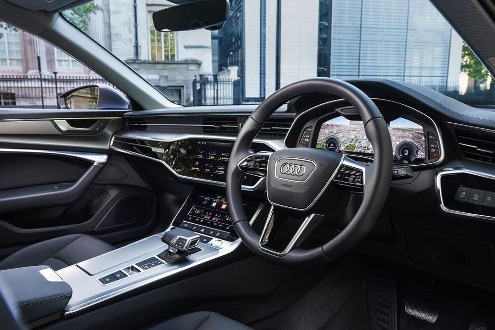 Audi A6 Saloon E-Hybrid interior