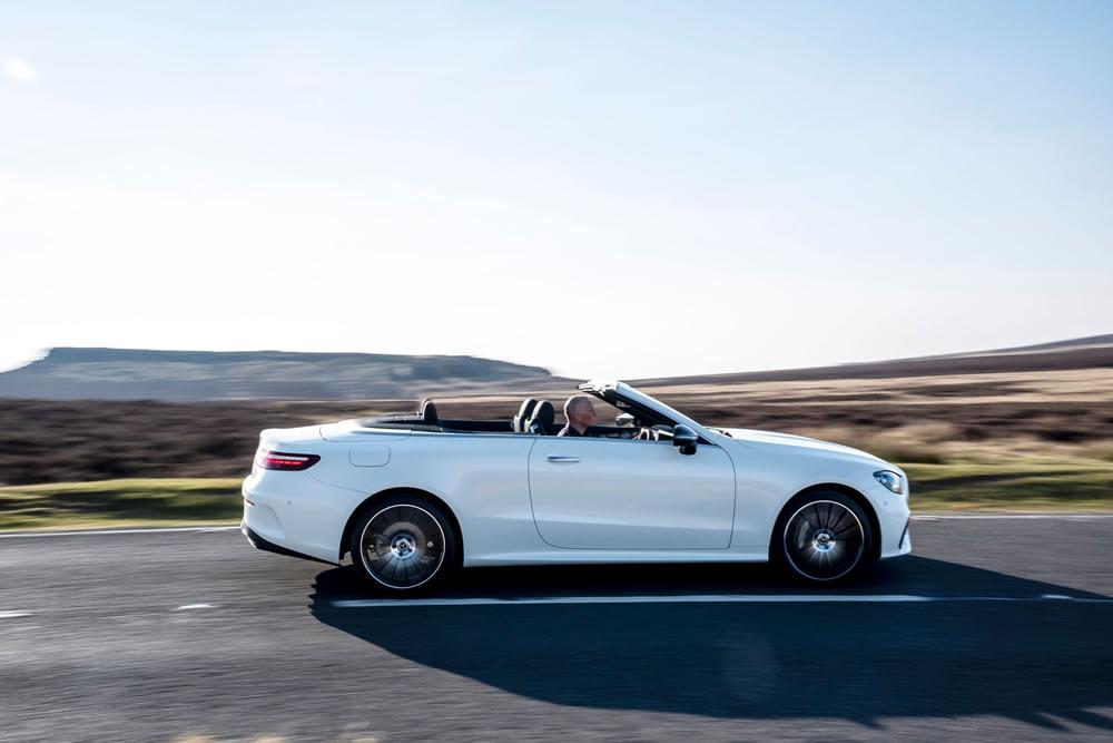 Mercedes-Benz E-Class Cabriolet side view