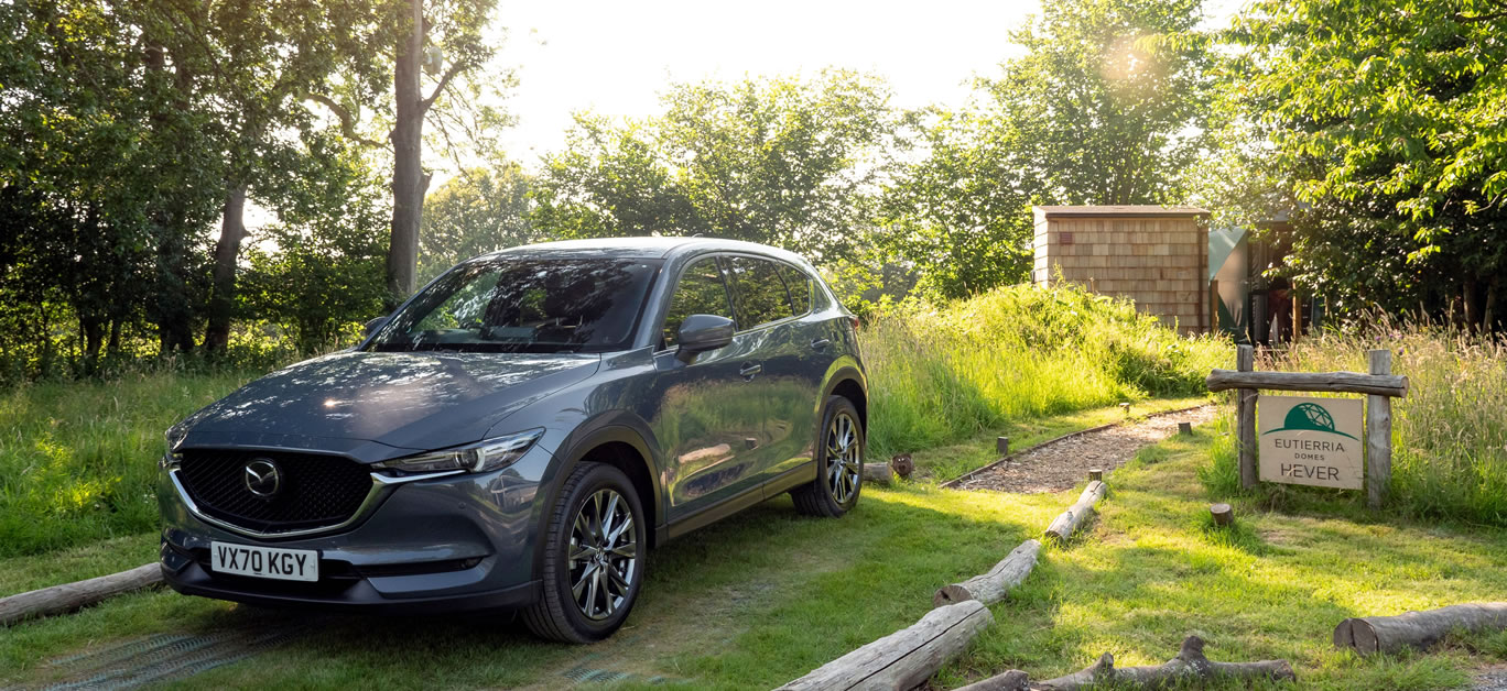 Luna Domes Kent, with the Mazda CX-5