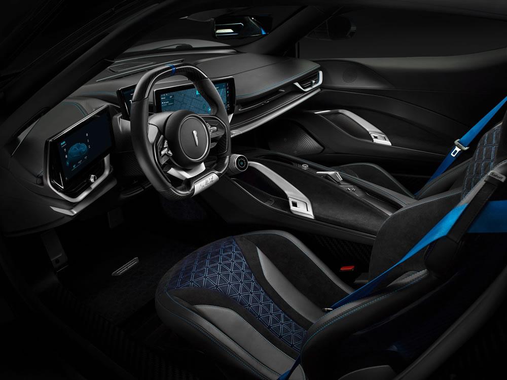 Automobili Pininfarina's stunning Battista Anniversario (interior)