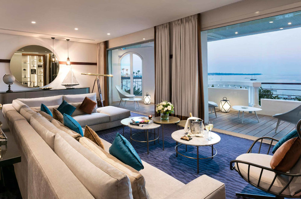 hotel barriere cannes suite