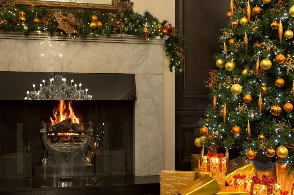 trump turnberry fireplace
