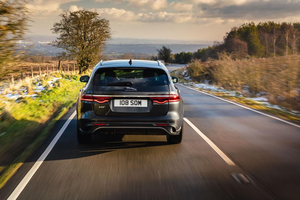 Jaguar XF Sportbrake rear view