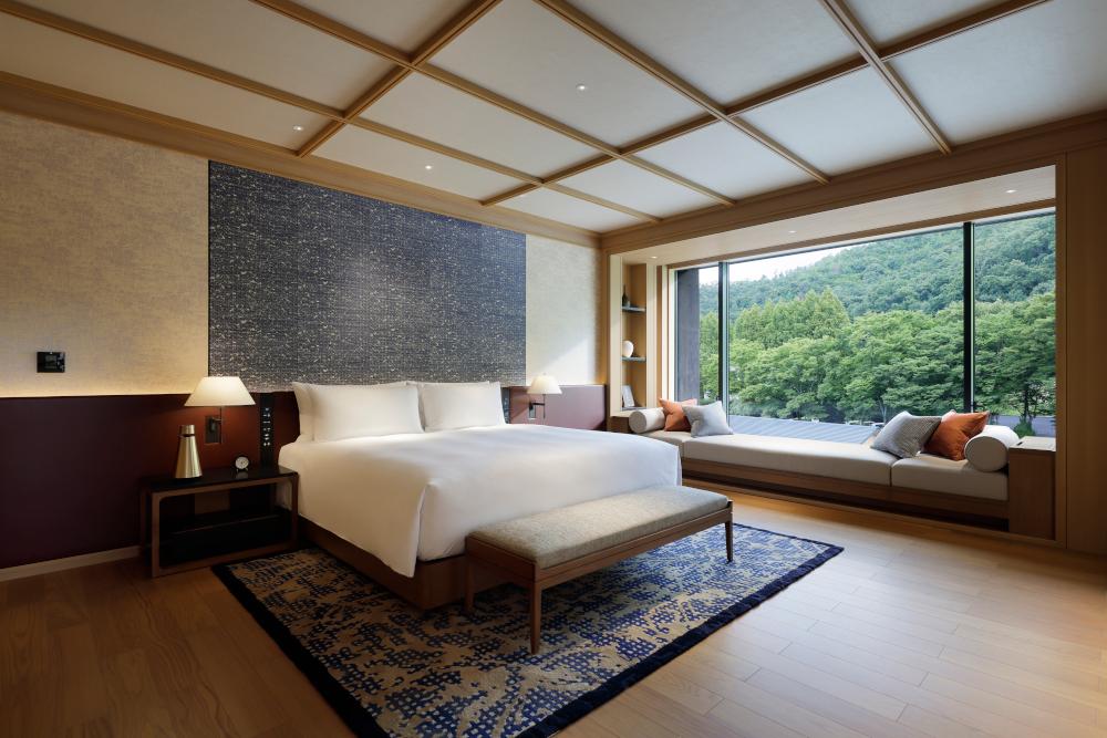 Bedroom at Roku Kyoto