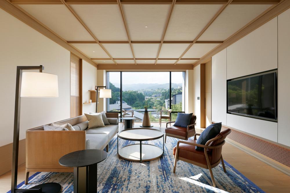 Roku Kyoto hotel interior