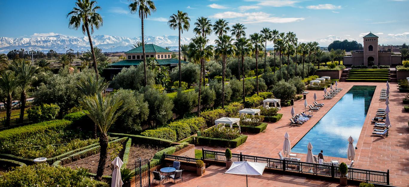 Beautiful hotel in Morocco