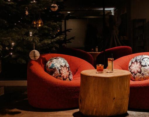 Scarlet Hotel christmas tree