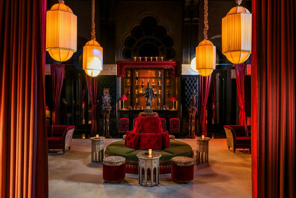 Bar at Selman Marrakech