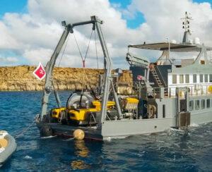 Submarine-charter-Mediterranean-U-boat-navigator-at-anchor