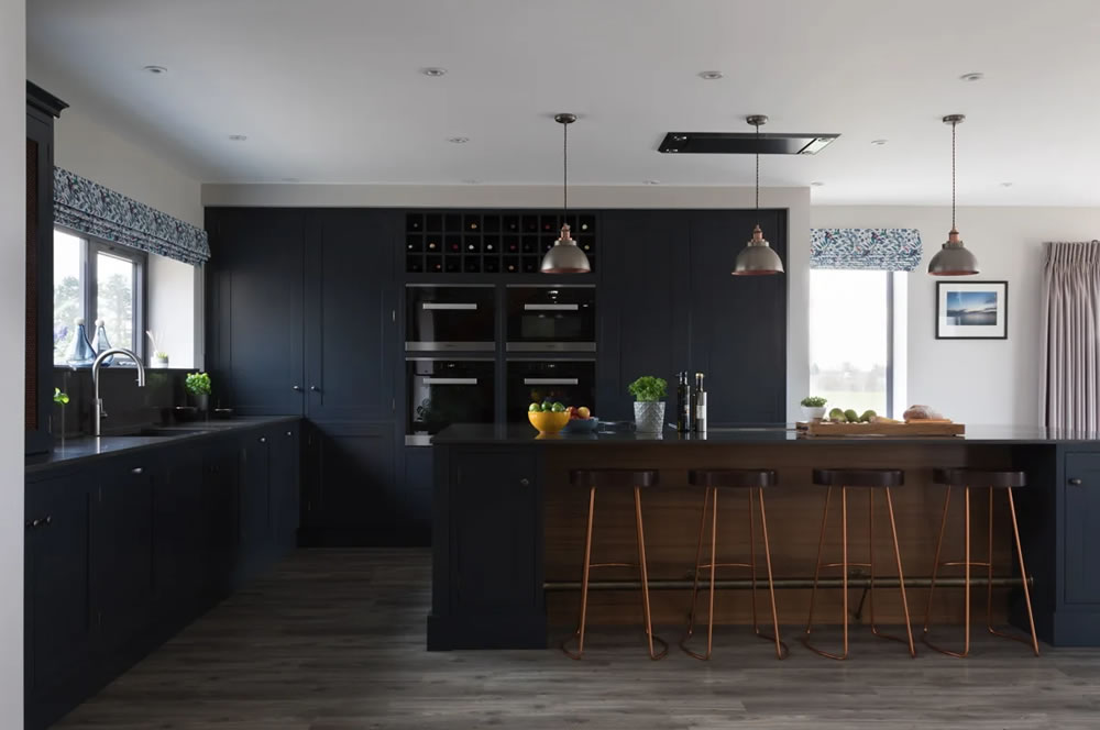 Traditional kitchen, with a contemporary twist