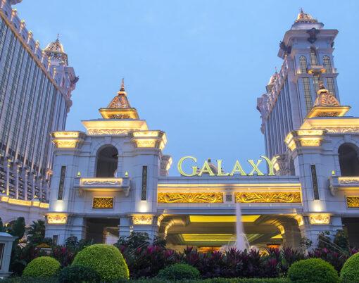 Buildings of Macau Galaxy casino
