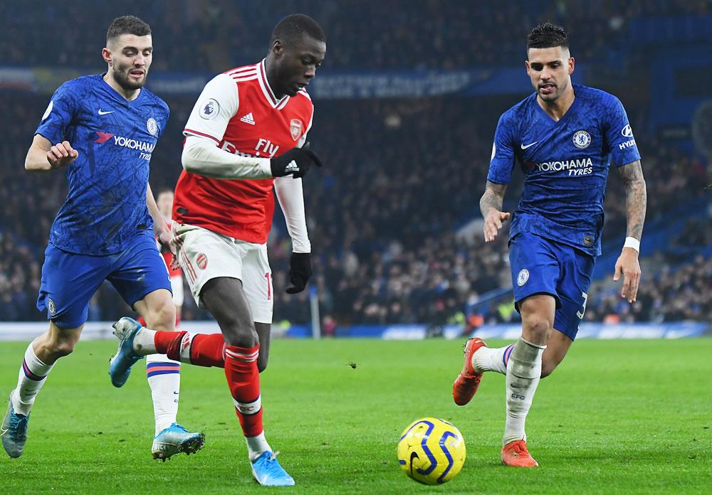 arsenal vs chelsea at Stamford Bridge
