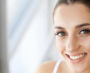 woman with healthy teeth