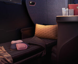 turkish airlines bed