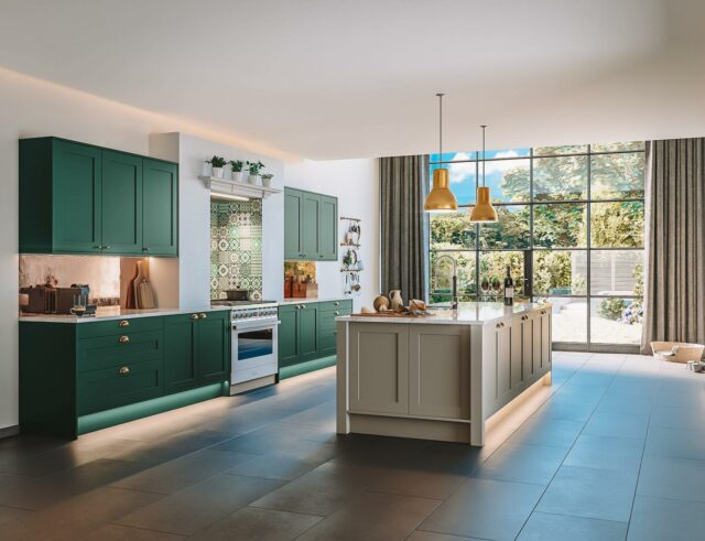Whether you wish to have a beautiful and elegant kitchen or a more carefully engineered space, Kesseler Kitchens will create a bespoke design for you.   Creating kitchen's that are unique, this luxury design company let's you choose any colour and wood finish — whatever you wish for, you can get.  With Kesseler Kitchen's patented Fortis system — which uses an ancient method of wood joinery for all the cabinetry — you'll be able to have the kitchen of your dreams🙌🏼