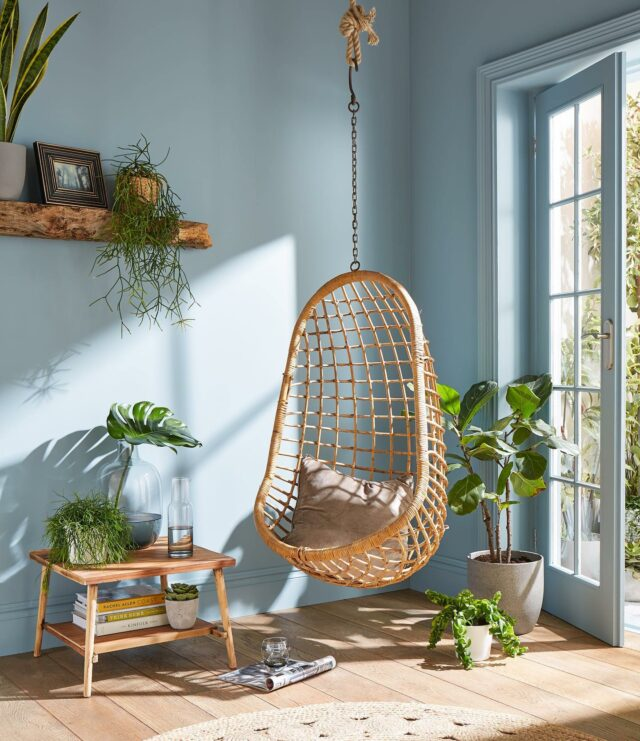 Looking to update your home? A simple change such as repainting your living space will instantly enliven the room.   Graham & Brown's Colour of the Year 2022: BREATHE will be the perfect choice as it reflects a celebration of nature, self-care, reflection, and optimism for the future.  A soothing mid blue hue is a breath of fresh air. Dark enough to add colour and depth but light enough to remain refreshing, this tranquil shade can be used almost anywhere in the home✨
